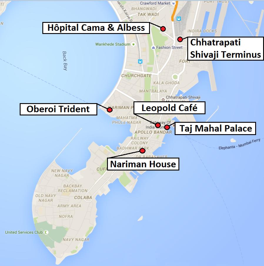 Carte Mumbai