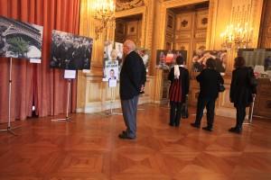 Exposition dans l'Hôtel du ministre (Quai d'Orsay)